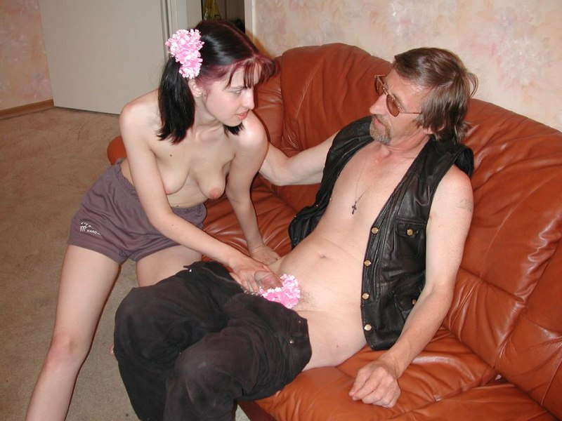 Daughter sex with grandfather